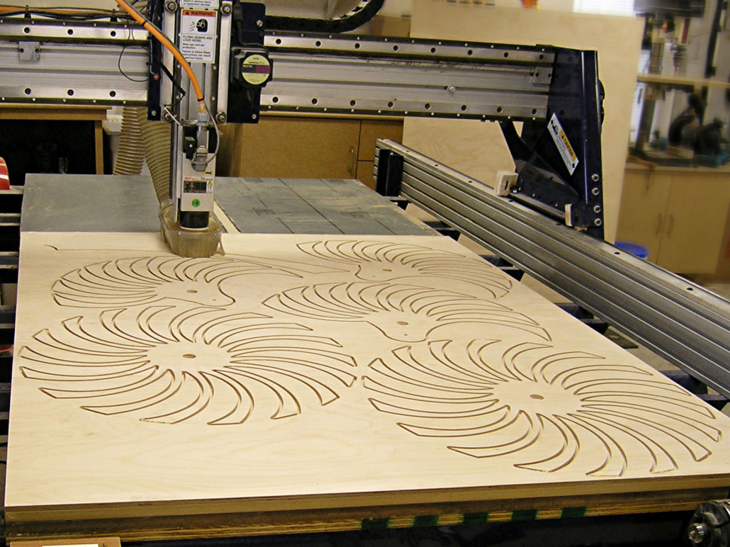 CNC Router Services – Gathering Wood