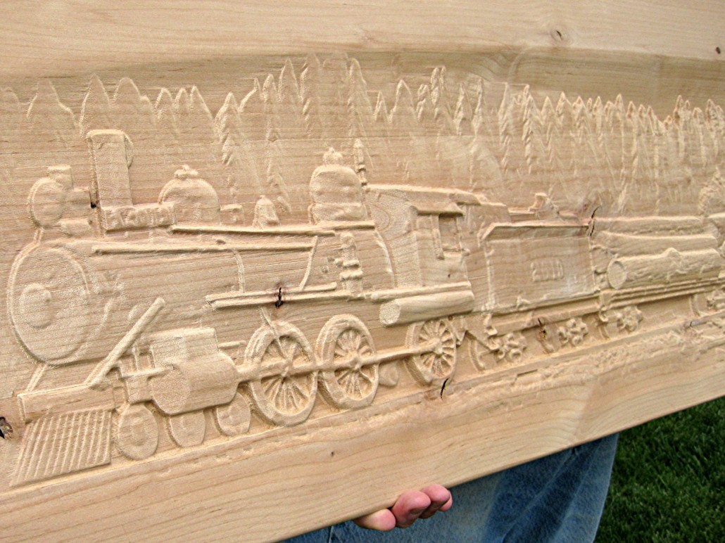 CNC Router Services - Gathering Wood