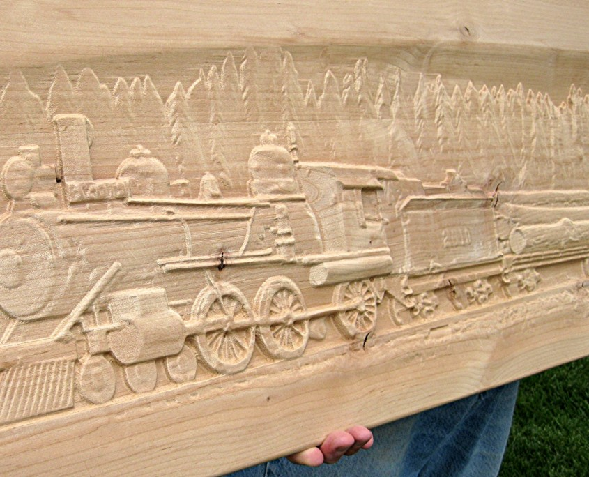 Custom Relief Carving