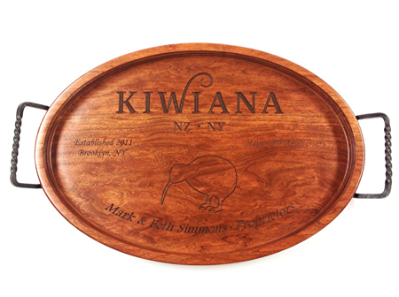 Restaurant Anniversary Commemoration Serving Tray