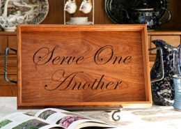 Serve One Another Tray