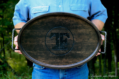 Custom Farm Brand Serving Tray