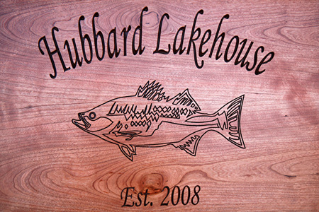 Lakehouse Fish Serving Tray